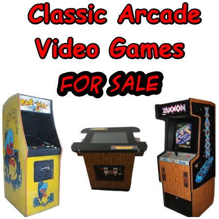 Classic Video Arcade Games For Sale – Pinball Medics